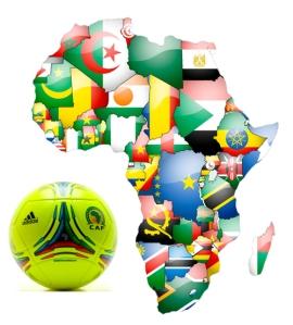 AfricaFlagMap2013Ball