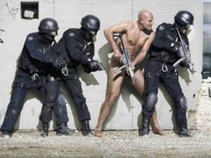 You don't see police officers working without protection do you?