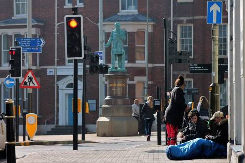 Homelessness in Leicester